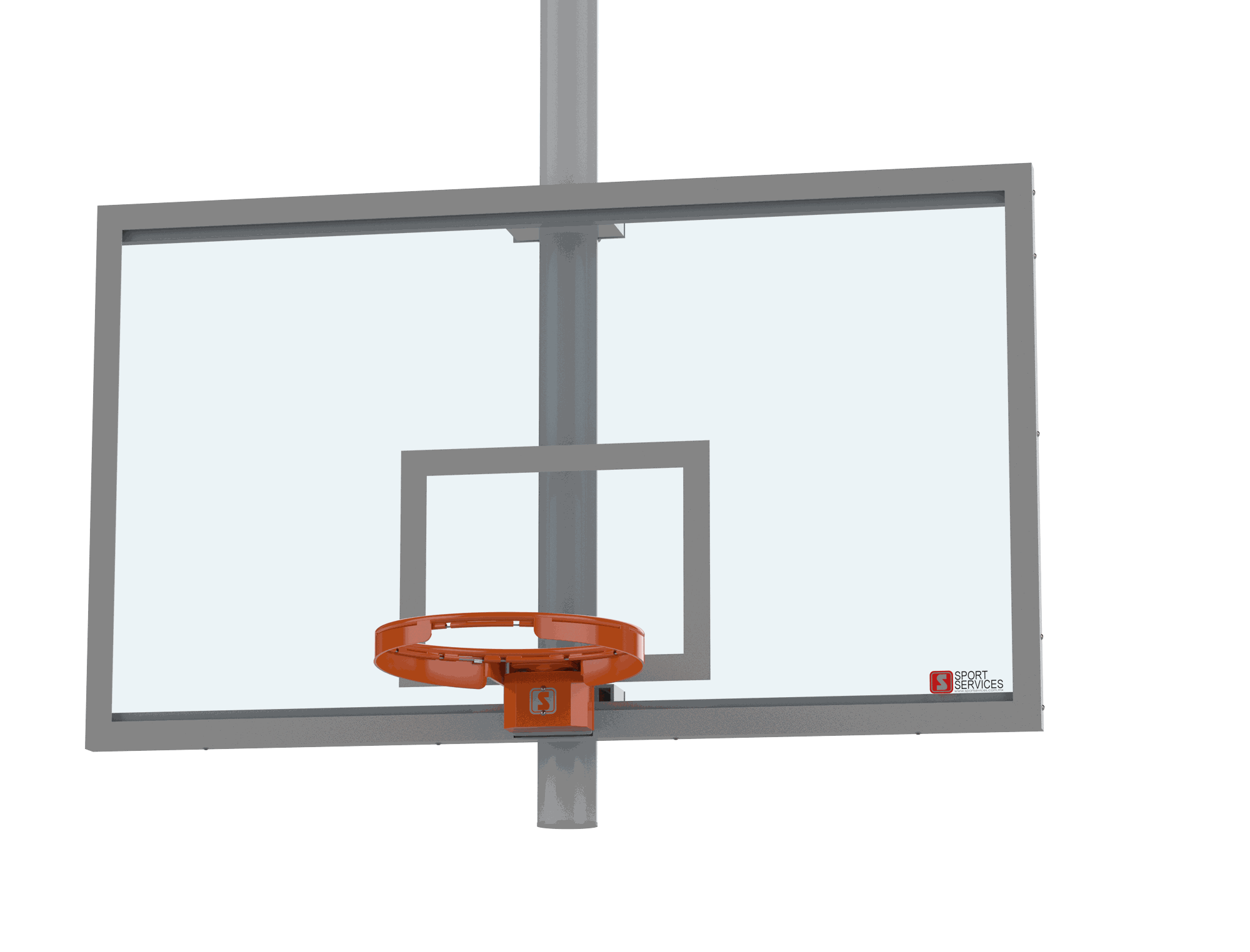 Tablero de Basketball retractil